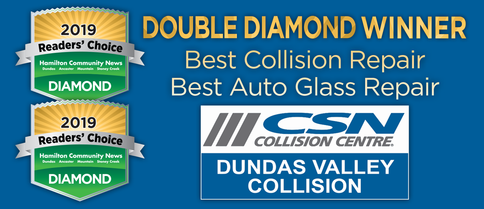 DVCC is a 2018 Double Diamond Readers Choice Winner for Best Collision Repair and Best Auto Glass Repair